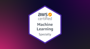 AWS ML Specialty get certified